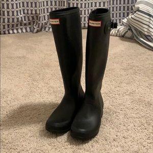Tall Hunter Rain-boots — Matte